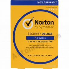 Norton Security Deluxe (5-Pc/3-Month)