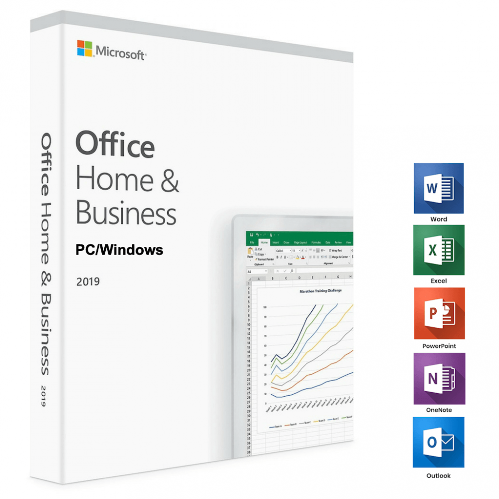 Microsoft Office 2019 Office 2019 Home and Business License Code Windows 10