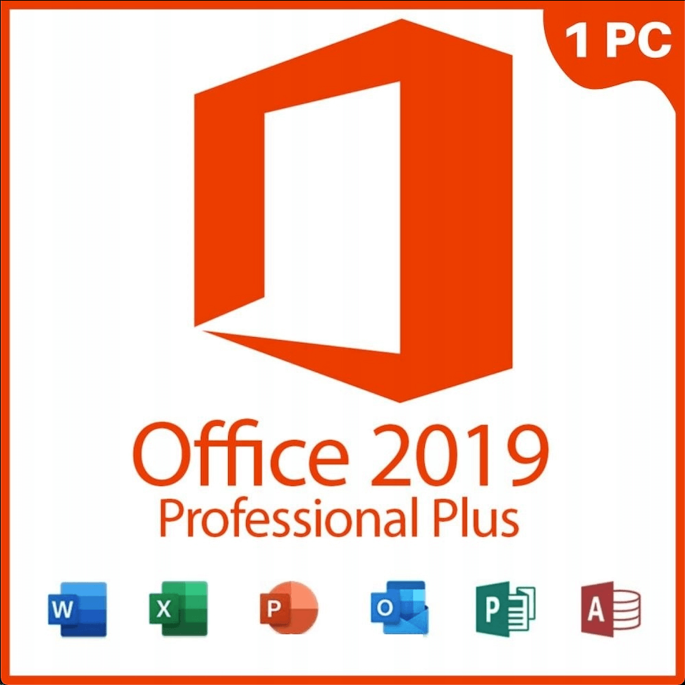 Майкрософт Office 2019 Professional Plus Лицензионный Бессрочный Ключ Для Windows 10