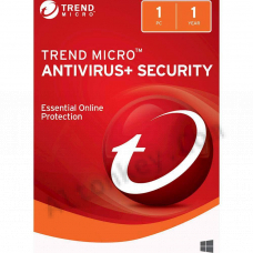 Trend Micro Antivirus+ Security (1 год)