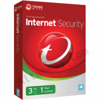 Trend Micro Titanium Internet Security (3 Пк / 1 год)