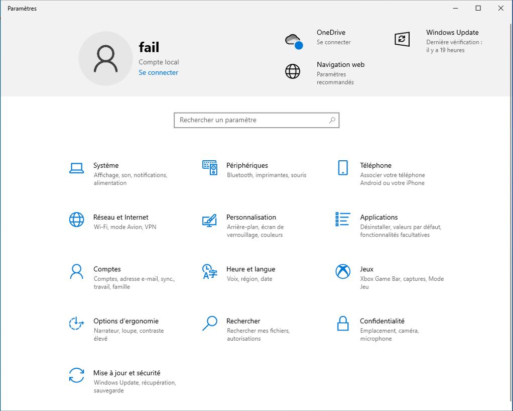To make sure you change the language, go to «Settings Windows 10»