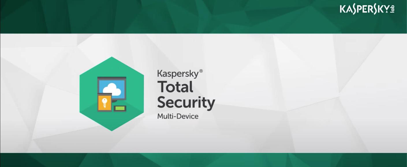 Kaspersky Total Security Large Logo