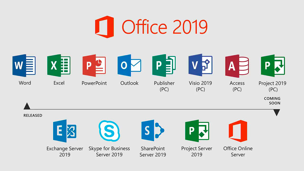 Microsoft Office 2019 Large Logo