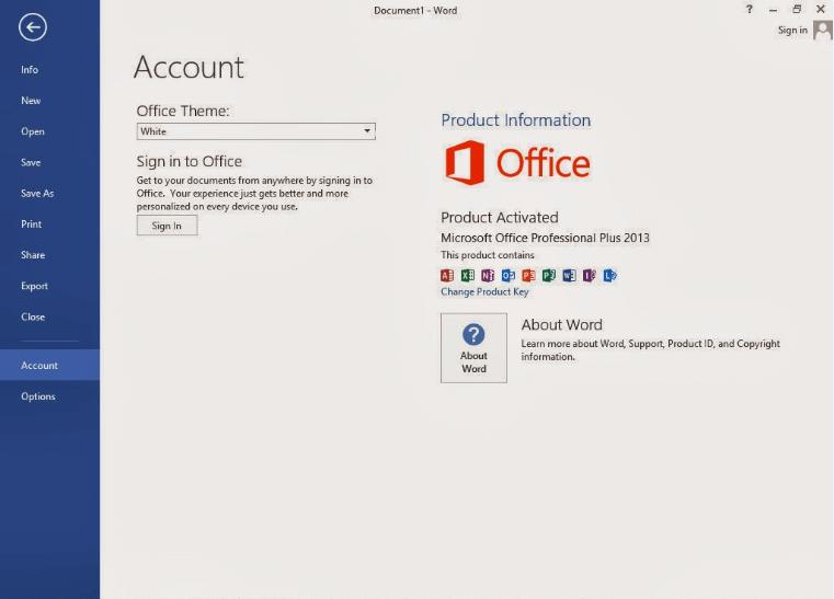 Microsoft Office 2013 Standard Large Logo