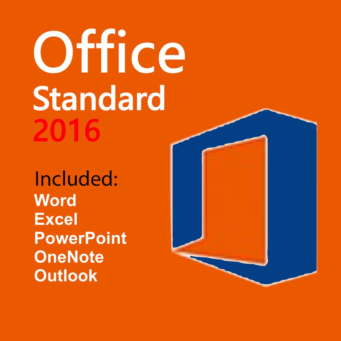Download Office 2016 Standard