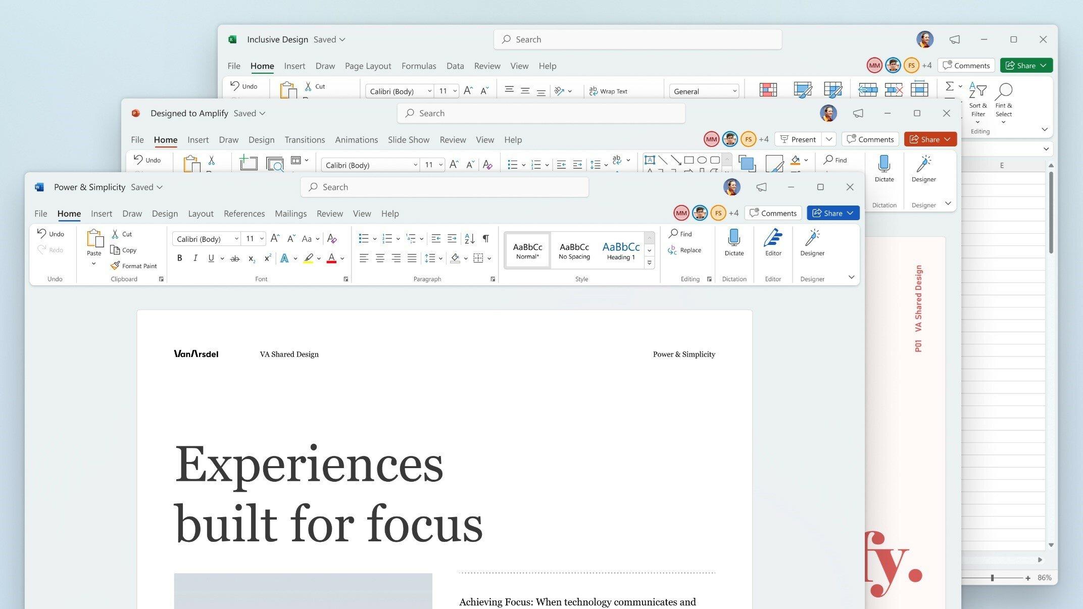 Microsoft Office 2021 Large Logo
