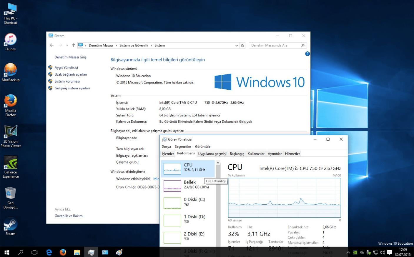 Microsoft Windows 10 Education Large Logo