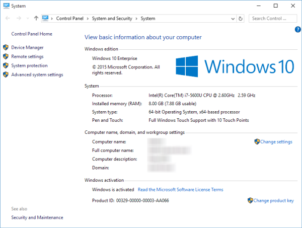 Microsoft Windows 10 Для Предприятий Large Logo